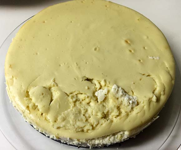 dropped-cheesecake