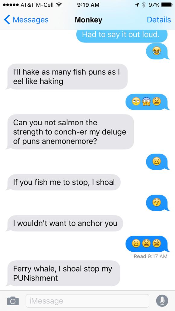 monkey-fish-puns