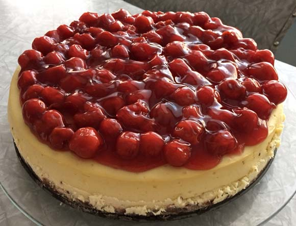 white-choc-cherry-cheesecake