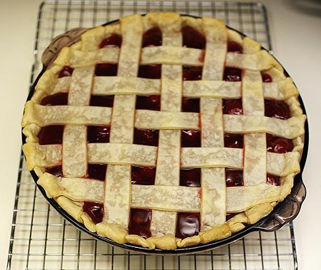 Mmmm... cherry pie